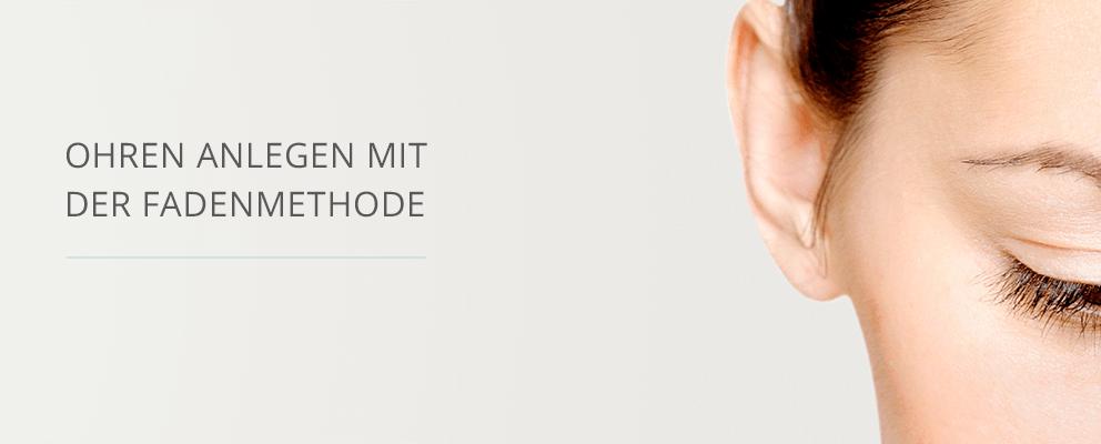 Ohren anlegen fadenmethode erfahrungen
